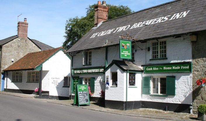 Ye Olde Two Brewers, Shaftesbury, Dorset 17/7/14