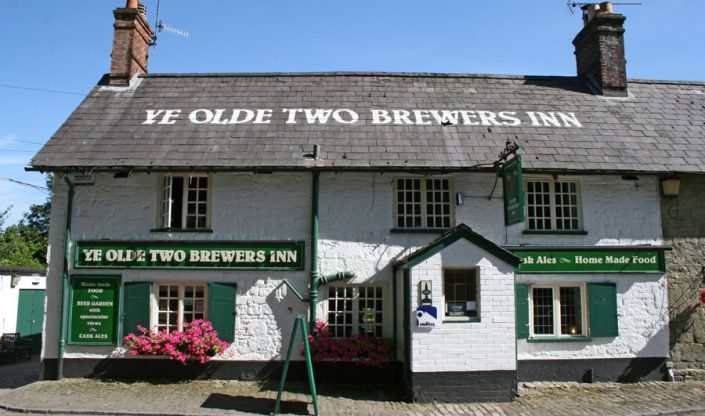 Ye Olde Two Brewers, Shaftesbury, Dorset 17/7/14