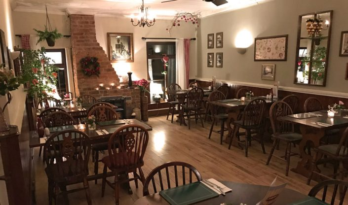 Ye Olde Two Brewers 30 Seater Dining Room